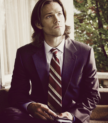 Love Sam in a suit.