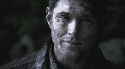 Dean talks to Cas in purgatory
