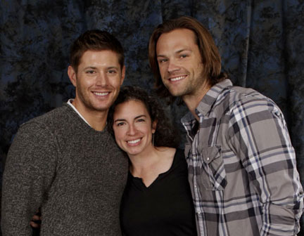 Jensen, Jared & me Oct. 28, 2012
