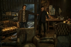 "Supernatural -- ""Last Holiday"" -- Image Number: SN1514B_0258r.jpg -- Pictured (L-R): Jared Padalecki as Sam and Jensen Ackles as Dean -- Photo: Colin Bentley/The CW -- © 2020 The CW Network, LLC. All Rights Reserved."
