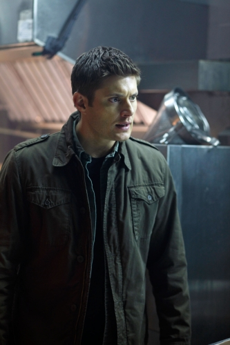 """""""Hammer of the Gods"""" - Jensen Ackles as Dean in SUPERNATURAL on The CW. Photo: Michael Courtney/The CW ©2010 The CW Network, LLC. All Rights Reserved."""